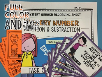 Addition and Subtraction Task Cards