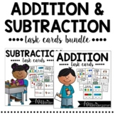 Addition and Subtraction Task Cards Bundle