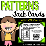 Patterns Task Cards [QR Codes]   4OA5