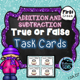 Winter Math Activity | Winter Addition and Subtraction