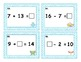 Addition and Subtraction Task Cards up to 20 with Unknown Number Cards
