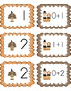 Addition and Subtraction Thanksgiving cards (Turkey and pilgrims)
