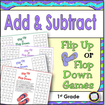 Summer Math Games Addition and Subtraction Through 20