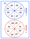 Addition and Subtraction Two Digit Spinners