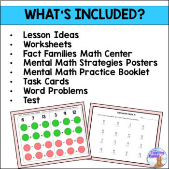 Addition and Subtraction Unit for Grade 2 (Ontario Curriculum)