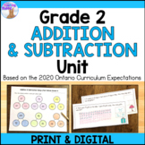 Addition and Subtraction Unit (Grade 2) - Distance Learning