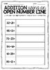 Addition and Subtraction Using an Open Number Line