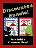 Addition and Subtraction Valentines and Year Round Fact Families Center Bundle