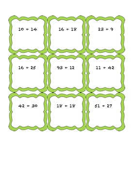 Addition and Subtraction War