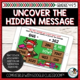Addition and Subtraction Whole Numbers | Holiday Math Miss