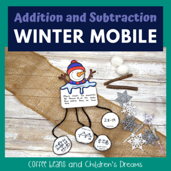 Addition and Subtraction Winter Craft