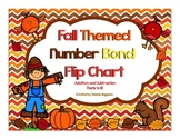 Addition and Subtraction With Number Bonds: Fall Themed Fl