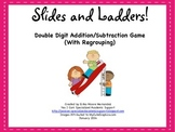 Addition and Subtraction (With Regrouping) Slides and Ladd