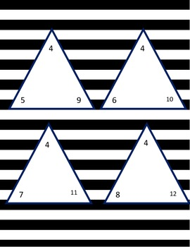 Addition and Subtraction With Tri-Cards
