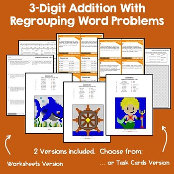 Addition and Subtraction With & Without Regrouping
