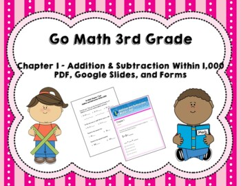 addition and subtraction within 1 000 test go math 3rd grade chapter 1. Black Bedroom Furniture Sets. Home Design Ideas