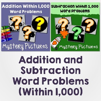 Addition and Subtraction Within 1,000 Word Problems