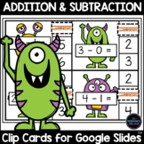 Addition and Subtraction Within 10 for Google Classroom™
