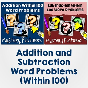 Addition and Subtraction Within 100 Word Problems