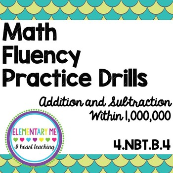 4th Grade Addition and Subtraction