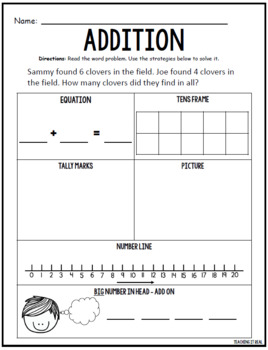 Addition and Subtraction (Within 20)