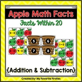 Addition and Subtraction Within 20 (Apple Addition)