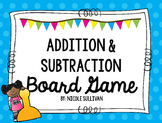 Addition and Subtraction Within 20 Board Game