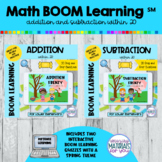 Addition and Subtraction Within 20 Boom Learning℠ | SPRING