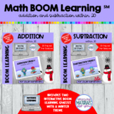 Addition and Subtraction Within 20 Boom Learning℠ | WINTER