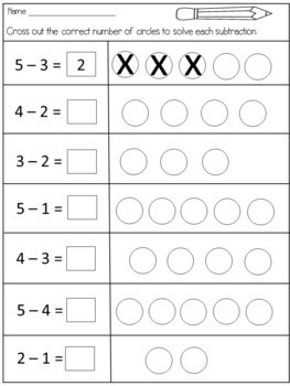 Addition and Subtraction Within 5