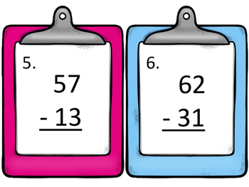 Addition and Subtraction Without Regrouping--Two Digit Numbers