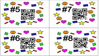 Addition and Subtraction Without Regrouping QR Scoot