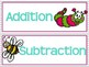 Addition and Subtraction Word Problems: Spring Themed