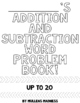 Addition and Subtraction Word Problems (10 to 20)