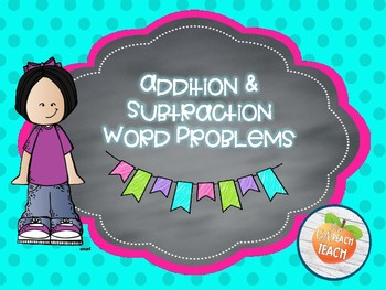 Addition and Subtraction Word Problems 4-Square