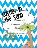Addition and Subtraction Word Problems: Castles in the Sand