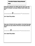 Addition and Subtraction Word Problems: Change Unknown 2.OA.1