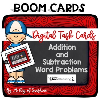 Addition and Subtraction Word Problems - Digital Task Cards