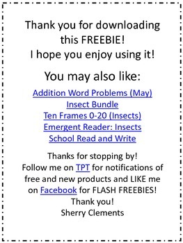 FREE DOWNLOAD : Addition and Subtraction Word Problems