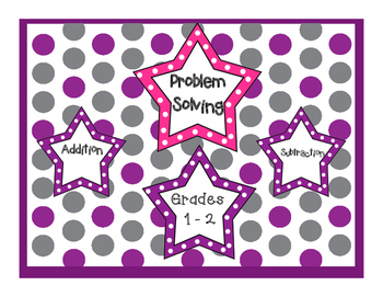 Math Worksheets, Addition and Subtraction Word Problems, Grades 1-3