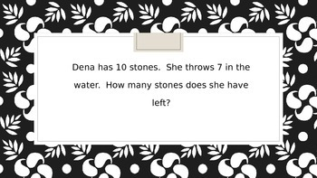 Addition and Subtraction Word Problems Jeopardy