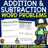 Addition and Subtraction Word Problems (National Parks)