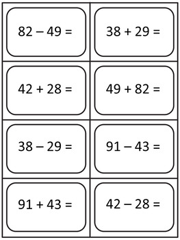 Addition and Subtraction Word Problems - Number Lines, Diagrams, and Equations