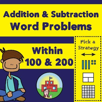 Image result for addition and subtraction within 200 with word problems to 100