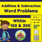 Addition and Subtraction Word Problems (Within 100 and Wit