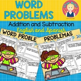 Addition and Subtraction Word Problems ENGLISH AND SPANISH