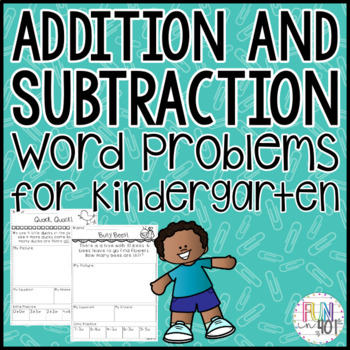 Common Core Addition and Subtraction Word Problems
