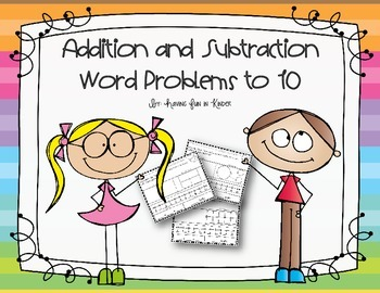 Addition and Subtraction Word Problems to 10