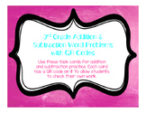 Addition and Subtraction Word Problems with QR Codes