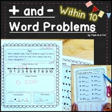 Word Problems Addition and Subtraction within 10 | Story Problems Kindergarten 1